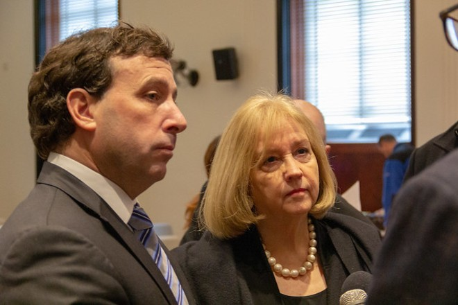 The resignation of County Executive Steve Stenger has set off some frantic activity. - RYAN GINES