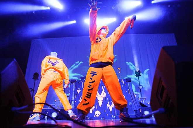 Die Antwoord will perform at the Pageant on Saturday, September 28. - TODD OWYOUNG