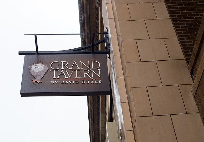 The restaurant is located in Grand Center. - MABEL SUEN