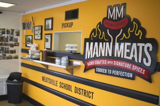 Inside Mann Meats - CHERYL BAEHR