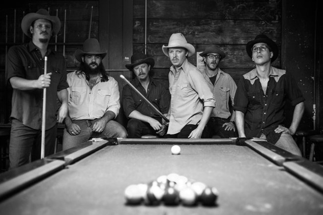 Mike and the Moonpies will perform at Off Broadway on Wednesday, May 15. - GREG GIANNUKOS