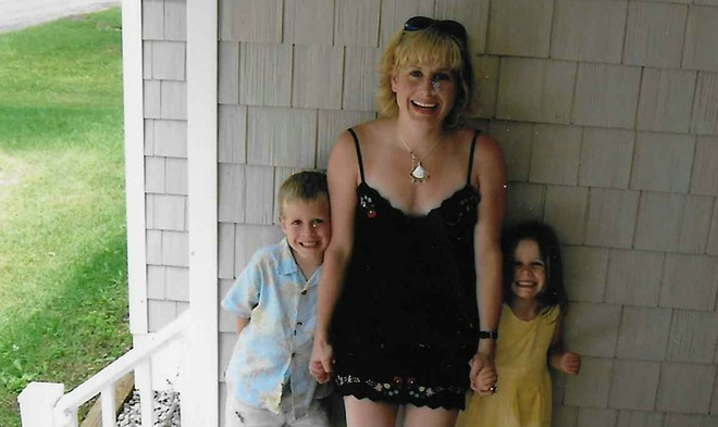 The author as a child, left, with his mother Gretchen Stahlschmidt and sister Thora. - COURTESY OF GABE PEARSON