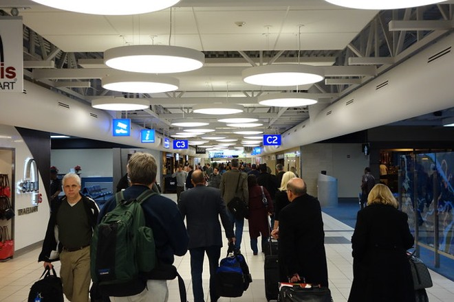 St. Louis Lambert International Airport would become the first major airport in the U.S. to privatize under a plan being discussed at City Hall. - FLICKR/JAY CROSS