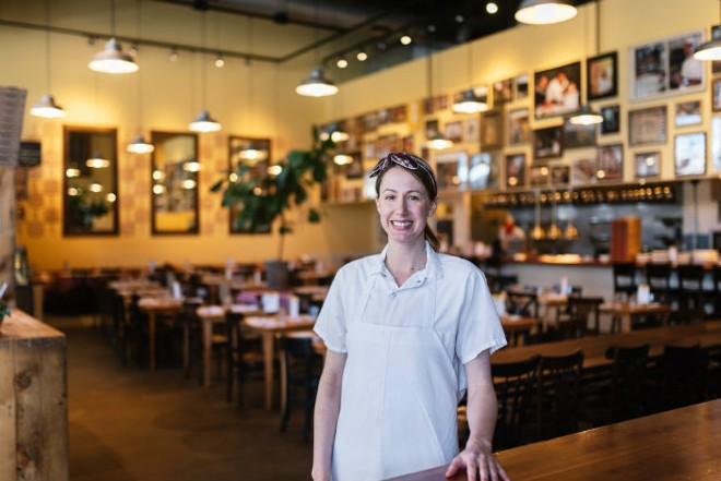 Jai Kendall is enjoying to get to know St. Louis' tight-knit restaurant community. - SPENCER PERNIKOFF