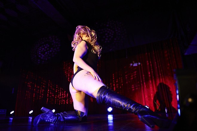 The Show Me Burlesque Festival celebrates ten years this weekend. - THEO WELLING