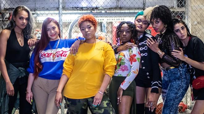 From left: Asia Major, Mai Lee, Danielle Sherie, Drea Vocalz, Nicole Iris, Lydia Caesar and SJ. - JOE RICHARDSON/JLR PHOTO DESIGN