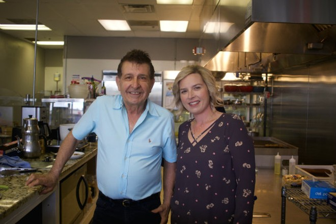 Father and daughter team Reza Toghiyany and Esther Spurgeon are excited to introduce a new kind of cuisine to Bridgeton with Esther's Persian Cafe. - CHERYL BAEHR