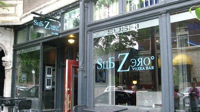 SubZero Vodka Bar is located in the heart of the Central West End. - RFT FILE PHOTO