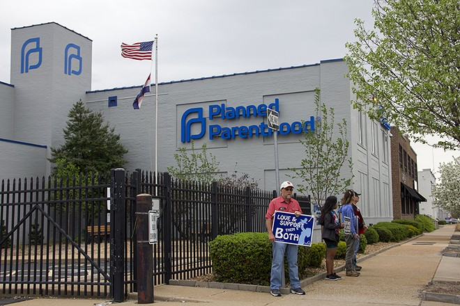 Planned Parenthood's St. Louis clinic. - DANNY WICENTOWSKI