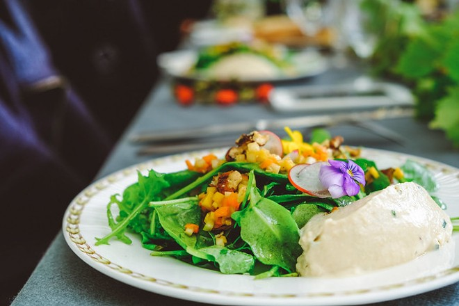 Vegan food is delicious - ELLA OLSSON / FLICKR