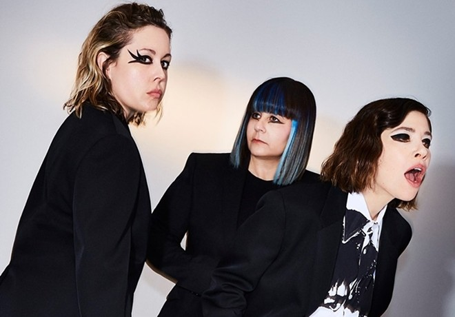 Sleater-Kinney will perform at  the Pageant on Tuesday, November 5. - VIA BTPR
