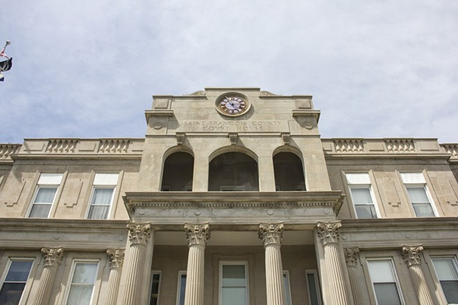 The St. Francois County Court House - DANNY WICENTOWSKI