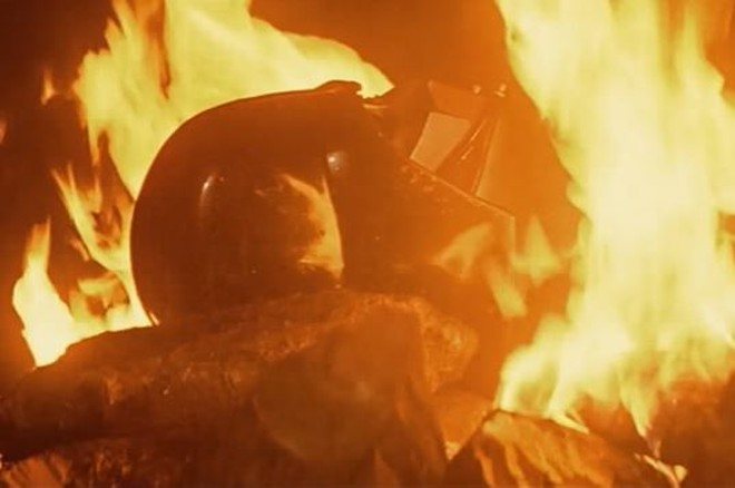 Darth Vader-style funeral pyres could be coming to Missouri. - SCREENSHOT VIA YOUTUBE