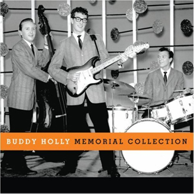 Buddy Holly: the man, the musician, the hologram. - ALBUM COVER