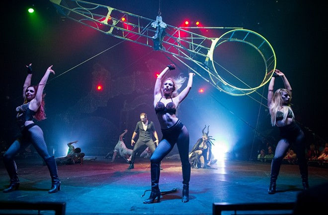 Paranormal Cirque is an adult twist on the circus of your childhood. - PENN TIMES/COURTESY OF PARANORMAL CIRQUE