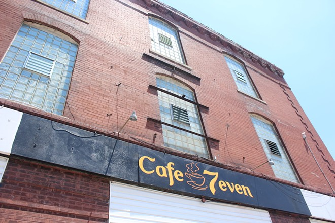 The restaurant's name comes from Mohammad's love of the number seven. - KATIE COUNTS