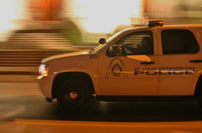 A St. Louis police cop illegally seized a man and drove him around. - PHOTO COURTESY OF FLICKR / PAUL SABLEMAN.