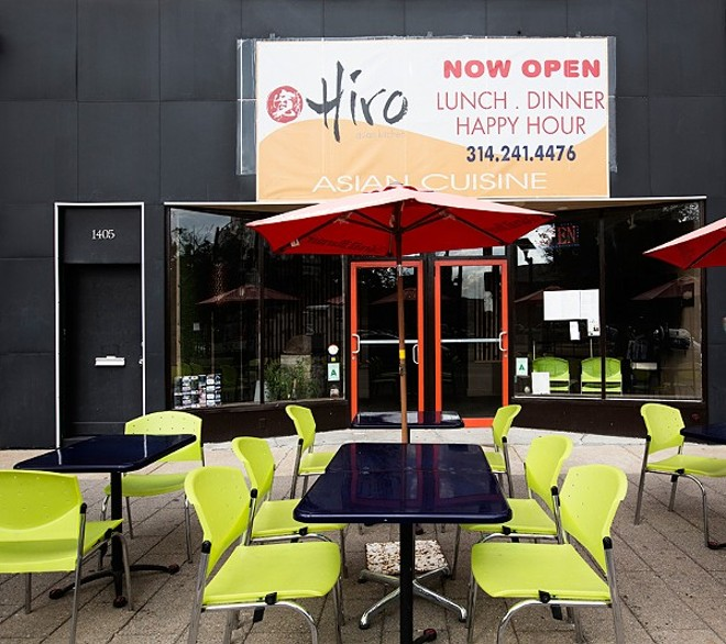 Hiro Asian Kitchen closed in May after a six-year run. - JENNIFER SILVERBERG
