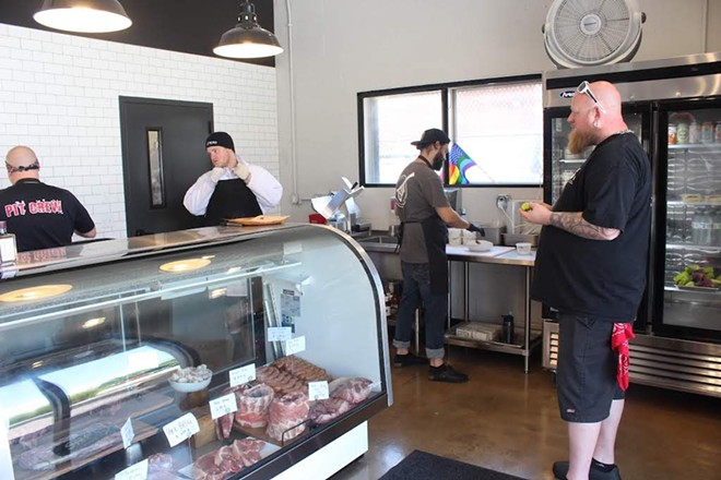 Also located in the space is a butcher shop called the Butchery. - KATIE COUNTS