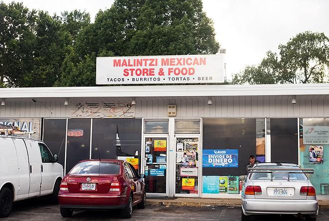Located in Woodson Terrace, Malintzi opened in 2006, adding the restaurant in 2009. - MABEL SUEN
