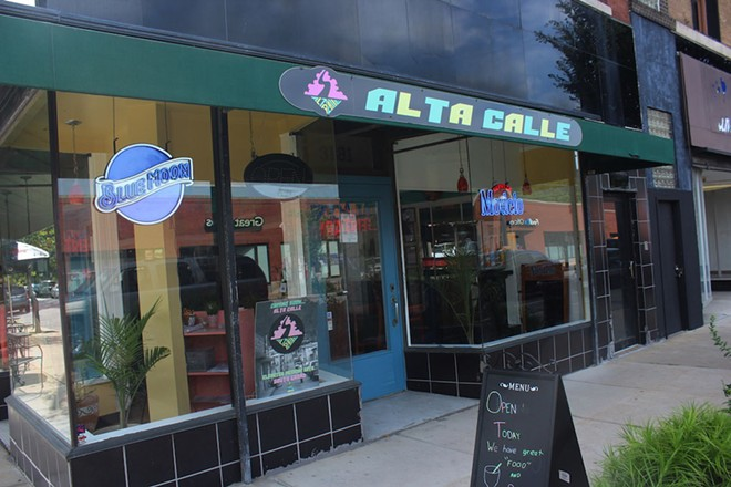 Alta Calle is now open for lunch and dinner. - KATIE COUNTS