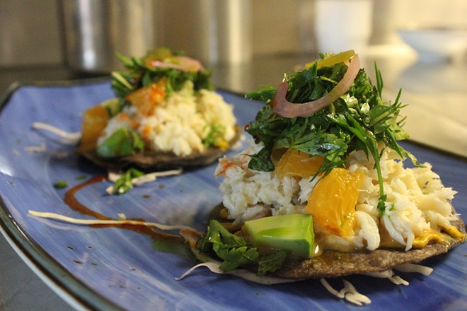 Alta Calle is now open on South Grand, serving elevated Mexican cuisine. - KATIE COUNTS