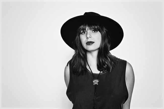 """Beth Bombara says her latest album has """"more of a live rock band vibe."""" - NATE BURRELL"""