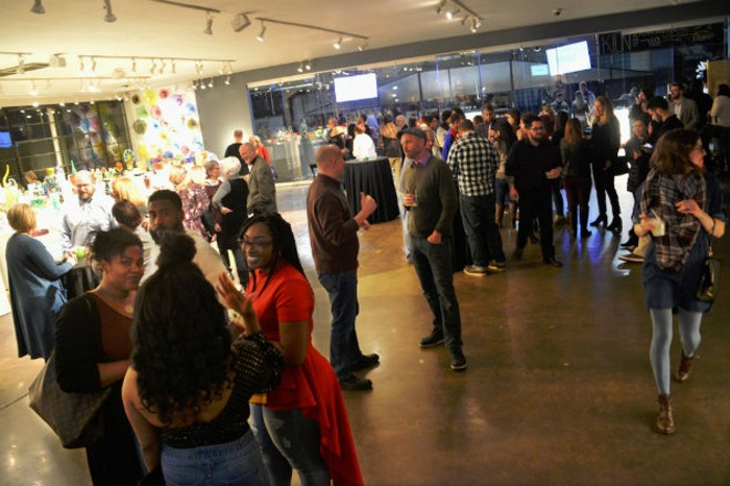 The Wellness Council estimates that over 300 people attended the first Sans Bar STL pop-up at Third Degree Glass Factory this past March. - MEREDITH MARQUARDT