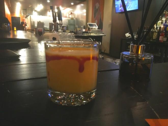 A mango lassi. - CHERYL BAEHR