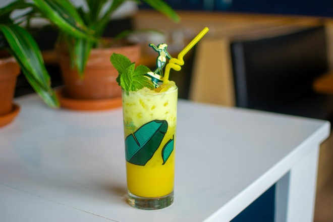 """The Yellowbelly"" breaks the sticky sweet rum drink stereotypes. - ELLEN PRINZI"