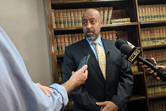 Attorney Roy Austin, who is representing Kim Gardner. - DANNY WICENTOWSKI