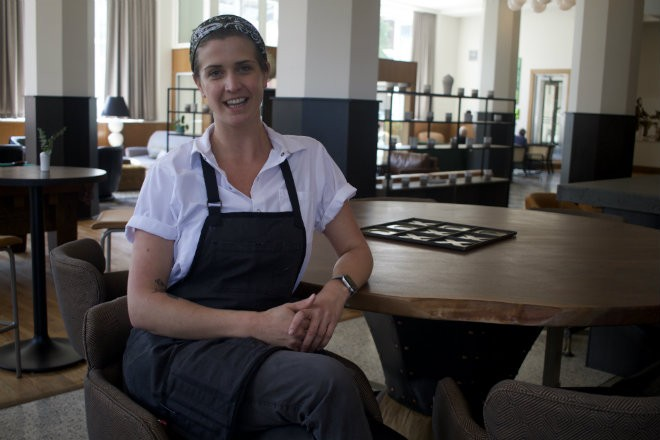 Chef Evy Swoboda leads the culinary operations at the Last Hotel. - CHERYL BAEHR