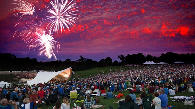 Tonight's free concert will even end in fireworks. - VIA THE SLSO