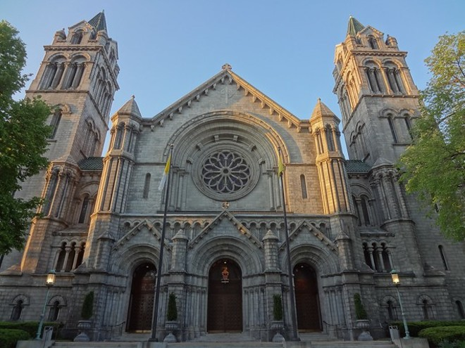 The Cathedral Basilica of Saint Louis. - VIA FLICKR/PAUL SABLEMAN