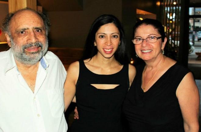 Behshid, Natasha and Hamishe Bahrami. - COURTESY BAHRAMI FAMILY