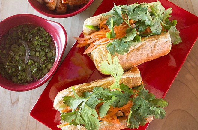 Nudo House serves a variety of bánh mì sandwiches. - MABEL SUEN