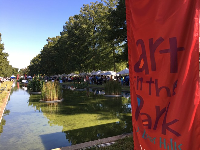 """""""Art in the Park"""" sounds even better if you say it with a Boston accent. - PHOTO PROVIDED BY ART IN THE PARK"""