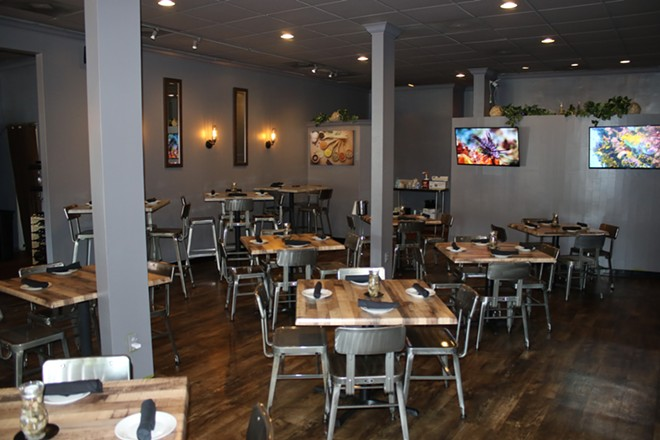 Another view of the dining room at West End Bistro. - CHELSEA NEULING