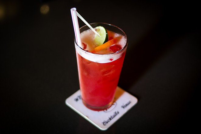 The Everyday Bistro cocktail with a punch blend and either rum, vodka or gin. - CHELSEA NEULING