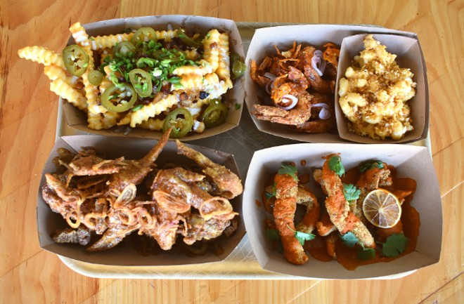A selection of menu items soon on offer at Grace Chicken + Fish. - LIZ MILLER