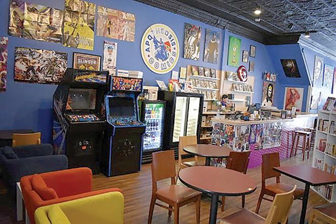 Apotheosis Comics & Lounge, as the name implies, has everything you need. - DANIEL HILL