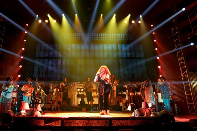 A Night with Janis Joplin celebrates the music of the legendary singer. - (C) JOAN MARCUS