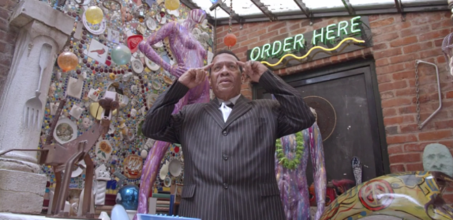 Set Your Mind Free is the second full-length record from local soul legend Roland Johnson. - SCREENSHOT FROM THE VIDEO BELOW