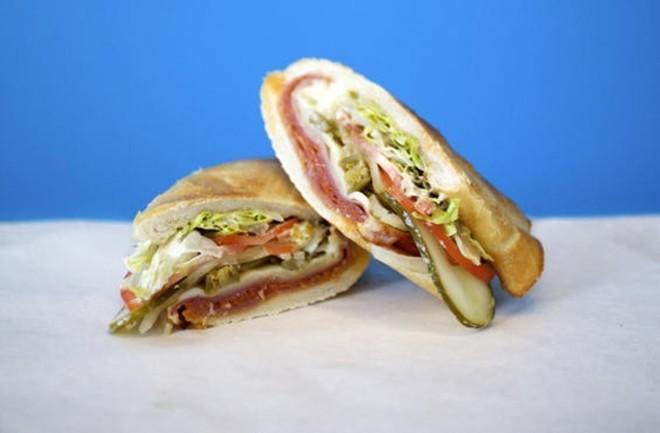 A Snarf's Italian sandwich. - JENNIFER SILVERBERG