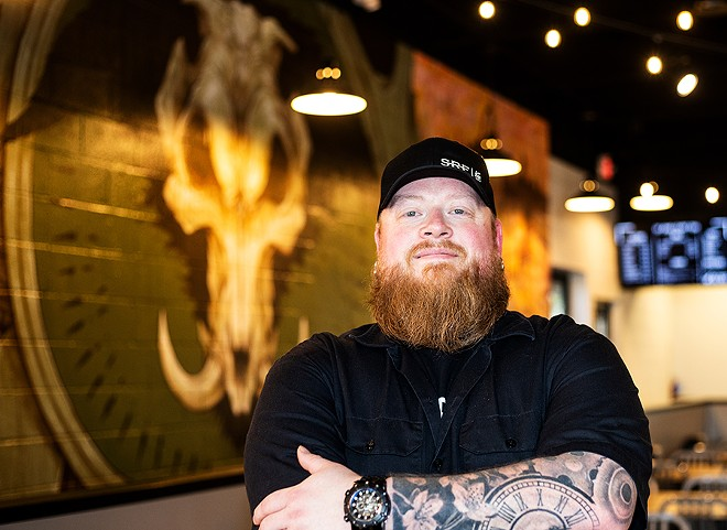 BEAST Butcher & Block features a private space called the Skullery, which is where chef-owner David Sandusky (pictured here) and his team really get to play. - MABEL SUEN