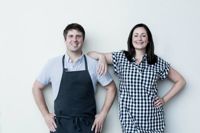Michael and Tara Gallina have big plans for the forthcoming Winslow's Table. - JONATHAN GAYMAN