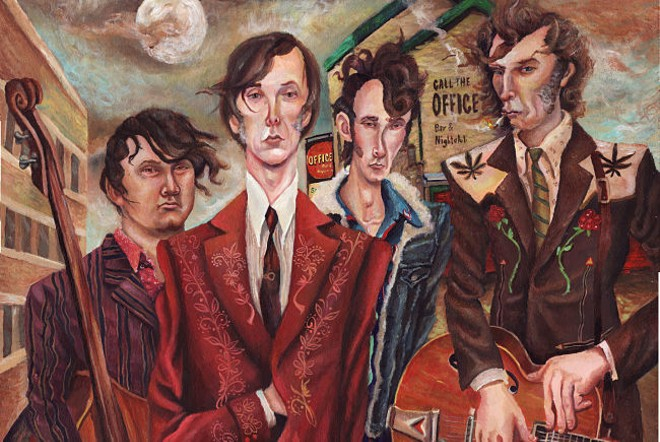 The Sadies will perform at Off Broadway on Wednesday, November 13. - JEREMY BRUNEEL