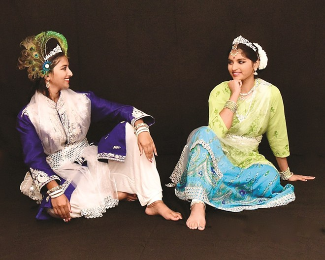 In You Are My True Reflection, the old love story of Krishna and Radha is retold through Indian dance and music. - COURTESY OF DANCES OF INDIA