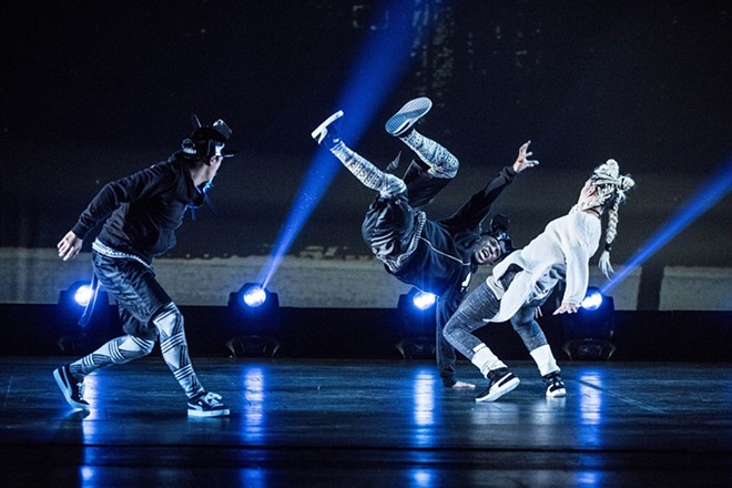 The Hip Hop Nutcracker is a modern twist on an old favorite. - TIM NORRIS
