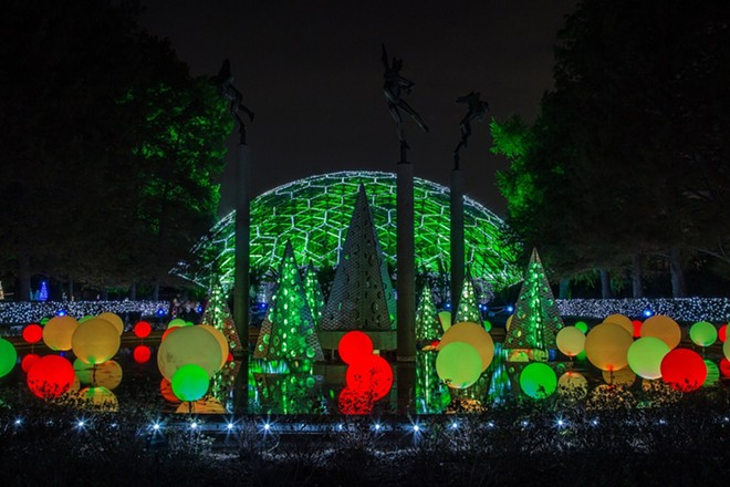 Garden Glow returns to make evenings merry and bright. - MARY LOU OLSON/MISSOURI BOTANICAL GARDEN